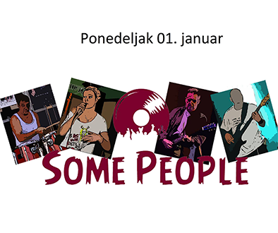 "Клупска свирка ""Some people"" 01.01.2018."